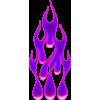 Flame drops magenta
