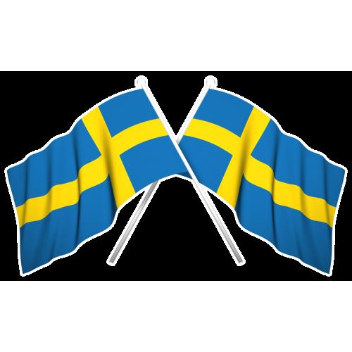 Sverigeflaggor