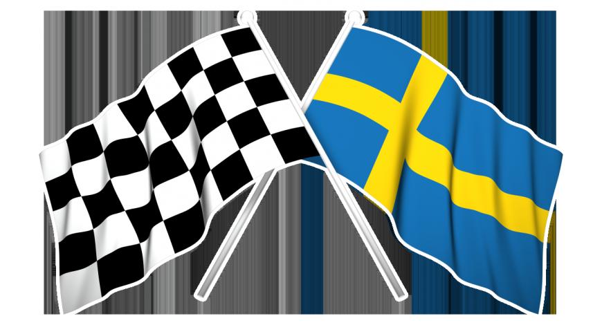 Sverige-/målflagga