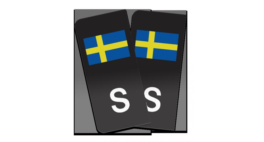 S-märke Sverigeflagga