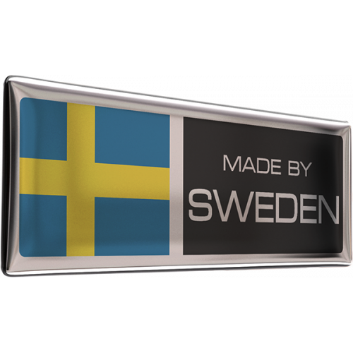 Made by Sweden-dekal