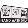 Hand wash only - dekal