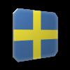 Isskrapa Sverige flagga