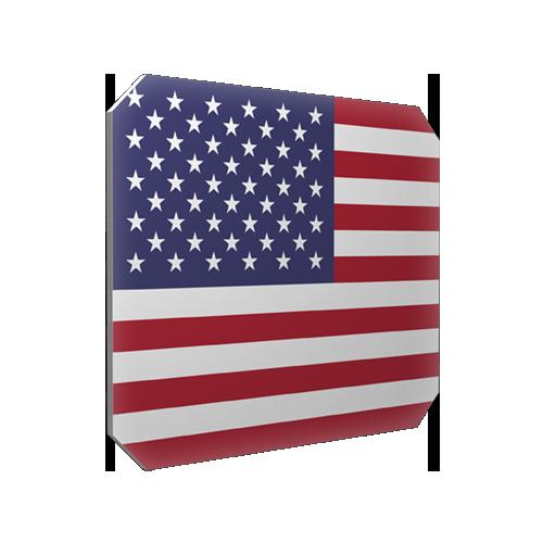 Isskrapa USA-flagga
