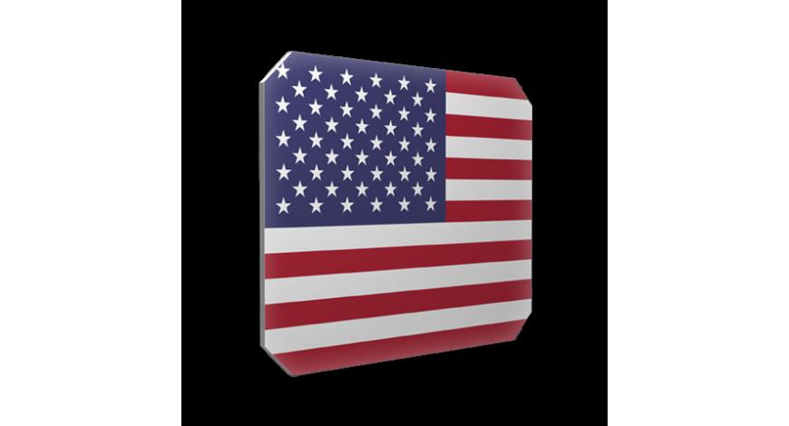 Isskrapa Usaflagga